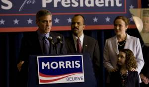 George Clooney (Governer Mike Morris)