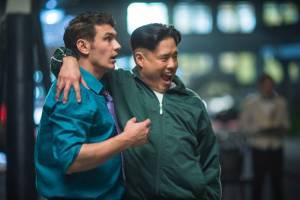 The Interview: James Franco (David Skylark) en Randall Park (Kim Jung Un)