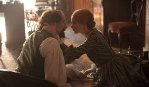 The Invisible Woman: Ralph Fiennes (Charles Dickens) en Felicity Jones (Nelly)