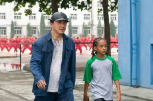 The Karate Kid: Jackie Chan (Mr. Han) en Jaden Smith (Dre Parker)