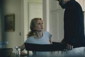 The Killing of a Sacred Deer: Nicole Kidman (Surgeon's Wife) en Colin Farrell (Surgeon)
