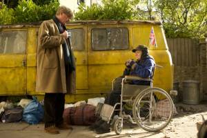 The Lady in the Van: Alex Jennings (Alan Bennett) en Maggie Smith (Miss Shepherd)