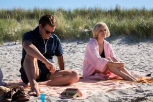 The Last Son: Jason Clarke (Ted Kennedy) en Kate Mara (Mary Jo Kopechne)