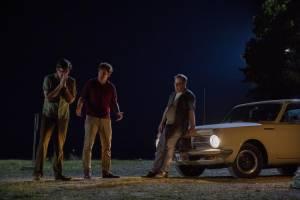 The Last Son: Ed Helms (Joe Gargan), Jason Clarke (Ted Kennedy) en Jim Gaffigan (Paul Markham)