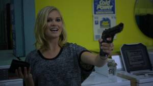 The Laundromat: Eliza Taylor (Amy (as Eliza Taylor-Cotter))