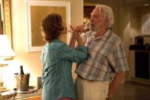 The Leisure Seeker: Helen Mirren (Ella) en Donald Sutherland (John)