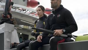 The Meg 3D: Bingbing Li (Suyin) en Jason Statham (Jonas Taylor)