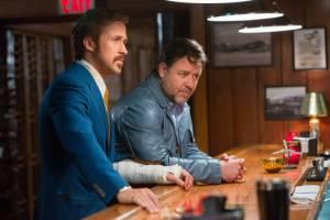 The Nice Guys: Ryan Gosling (Holland March) en Russell Crowe (Jackson Healy)