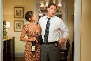 The Other Guys: Will Ferrell (Allen Gamble) en Eva Mendes (Dr. Sheila Gamble)