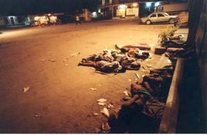 Doden op straat