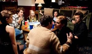 The Perks of Being a Wallflower: Logan Lerman (Charlie) en Emma Watson (Sam)