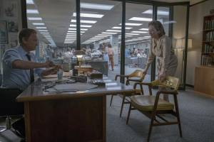 The Post: Tom Hanks (Ben Bradlee) en Meryl Streep (Kay Graham)