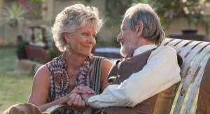 The Second Best Exotic Marigold Hotel: Diana Hardcastle (Carol) en Ronald Pickup (Norman Cousins)