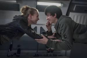 The Space Between Us: Brittany Robertson (Tulsa) en Asa Butterfield (Gardner Elliot)