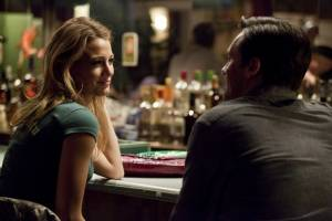 The Town: Jon Hamm (FBI S.A. Adam Frawley) en Blake Lively (Krista Coughlin)