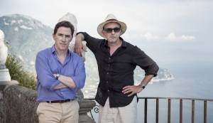 The Trip to Italy: Rob Brydon (Rob) en Steve Coogan (Steve)