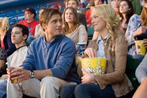 The Ugly Truth: Katherine Heigl (Abby) en Eric Winter (Colin)