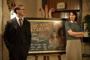 Their Finest: Gemma Arterton (Catrin Cole) en Sam Claflin (Tom Buckley)