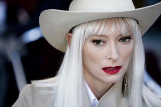 Tilda Swinton in The Limits of Control