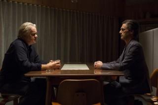 Tim Robbins en Jon Hamm in Marjorie Prime