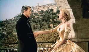 To Catch a Thief: Cary Grant (John Robie) en Grace Kelly (Frances Stevens)