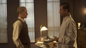 Tokyo Trial: Marcel Hensema (B. V. A. Röling) en Irrfan Khan (Radhabinod Pal)