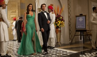 Paula Patton en Tom Cruise in Mission: Impossible - Ghost Protocol