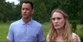 Tom Hanks en Robin Wright in Forrest Gump