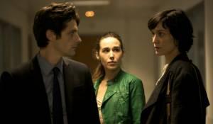 Trois mondes: Raphaël Personnaz (Al), Arta Dobroshi (Vera) en Clotilde Hesme (Juliette)