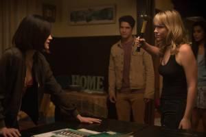 Truth or Dare: Lucy Hale (Olivia), Tyler Posey (Lucas) en Violett Beane (Markie Cameron)