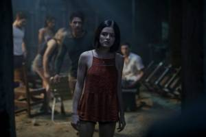 Truth or Dare: Tyler Posey (Lucas) en Lucy Hale (Olivia)