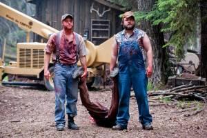 Tucker & Dale vs Evil: Tyler Labine (Dale) en Alan Tudyk (Tucker)