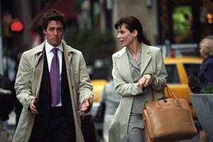 Two Weeks Notice: Sandra Bullock (Lucy Kelson) en Hugh Grant (George Wade)