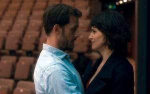 Nicolas Duvauchelle (L'acteur) en Juliette Binoche (Isabelle)