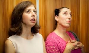 Une heure de tranquillité: Valérie Bonneton (Elsa) en Rossy de Palma (Maria)