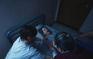 Unsane: Claire Foy (Sawyer Valentini) en Polly McKie (Nurse Boles)