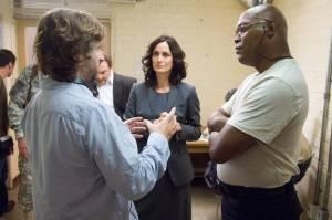 Unthinkable: Samuel L. Jackson (H) en Carrie-Anne Moss (Agent Helen Brody)