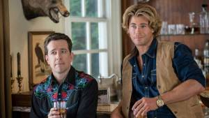 Vacation: Ed Helms (Rusty Griswold) en Chris Hemsworth (Stone Crandall)