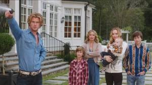 Vacation: Chris Hemsworth (Stone Crandall), Christina Applegate (Debbie Griswold) en Leslie Mann (Audrey Griswold)