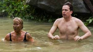 Vacation: Christina Applegate (Debbie Griswold) en Ed Helms (Rusty Griswold)