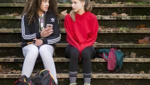 Vechtmeisje: Noa Farinum (Joy) en Aiko Beemsterboer (Bo)