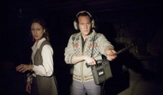 Vera Farmiga en Patrick Wilson in The Conjuring