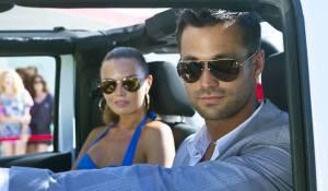 Verliefd op Ibiza: Jan Kooijman (Kevin) en Kim Feenstra (Elza)