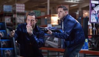 Vince Vaughn en Jonah Hill in The Watch