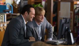 Vince Vaughn en Owen Wilson in The Internship