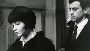 Vivre sa vie: Anna Karina (Nana Kleinfrankenheim) en André S. Labarthe (Paul)