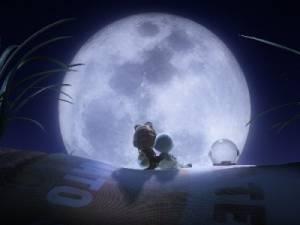 Vliegen naar de maan