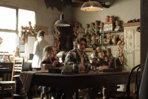 Wakolda: Natalia Oreiro (Eva), Elena Roger (Nora Eldoc) en Diego Peretti (Enzo)