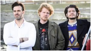 Weg van Jou: Lykele Muus (Lennaert), Pepijn Schoneveld (Rob) en Maarten Heijmans (Stijn)