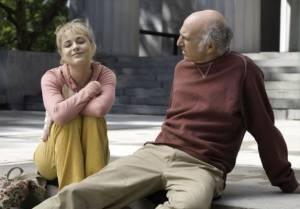 Whatever Works: Larry David (Boris Yellnikoff) en Evan Rachel Wood (Melodie St. Ann Celestine)